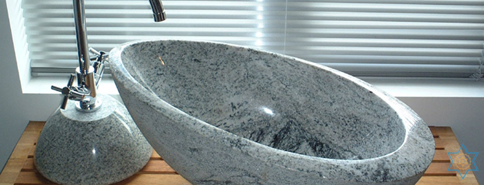 Auryaj granite stone carvings and sculptures of washbasins are crafted with quality in mind